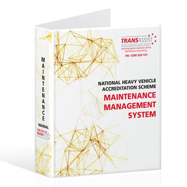 Nhvas Maintenance Management Manual